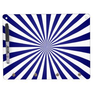 Blue rays Dry-Erase board