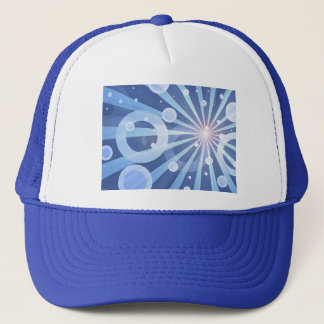 Blue Rays Trucker Hat