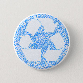 Blue Recycle Button