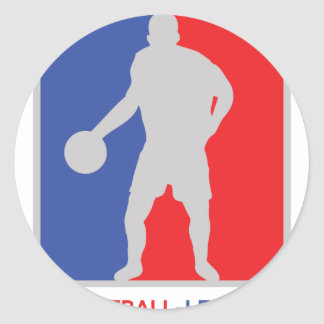 blue red basketball legend icon stickers