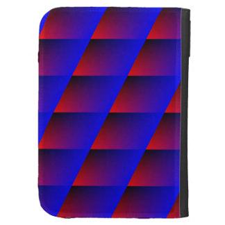 Blue_Red Blinds Kindle Case