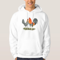 Blue Red Gamefowl Hoodie