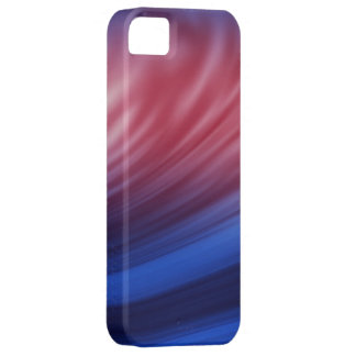 Blue, Red paint brush strokes on iphone cases iPhone 5 Covers