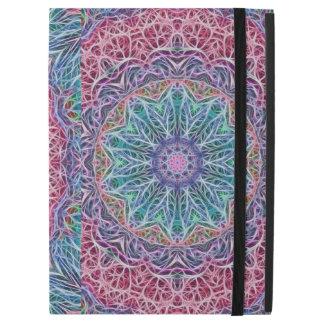 "Blue Red Snowflake Kaleidoscope iPad Pro 12.9"" Case"