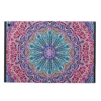 Blue Red Snowflake Kaleidoscope Powis iPad Air 2 Case
