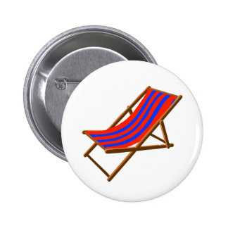blue red striped wooden beach chair png pinback buttons