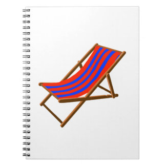 blue red striped wooden beach chair.png notebook