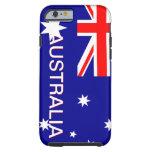 Blue Red & White Australia iPhone 6 case iPhone 6 Case