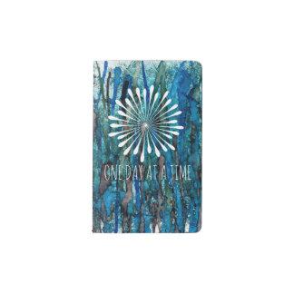 Blue Reeds Serenity Cover Pocket Moleskine Notebook