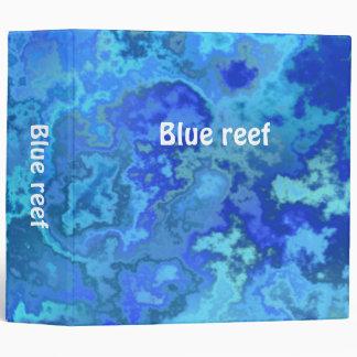 blue reef binder