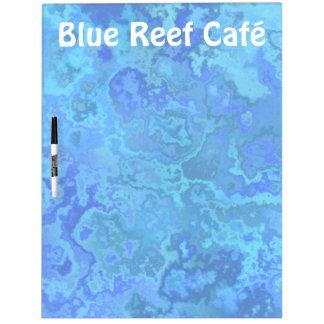 blue reef dry erase board