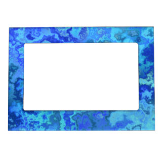 blue reef magnetic photo frame