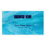 blue reflection ~ bc business card template