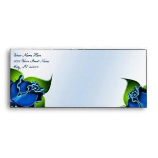 Blue Reflection w/ Roses Envelope