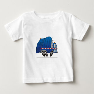 Blue Refuse Truck Tee Shirt
