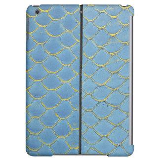 Blue Reptile Skin Print iPad Air Case