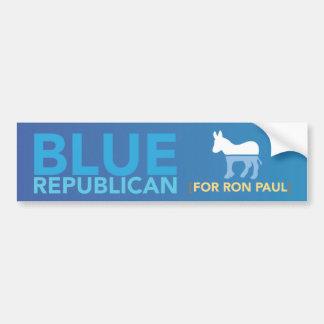 Blue Republican Bumper Sticker