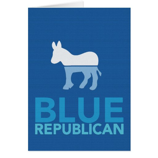 Blue Republican Just For A Year Ron Paul 2012 Greeting Cards