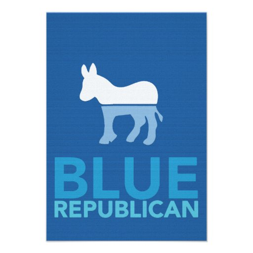 Blue Republican Just For A Year Ron Paul 2012 Invite