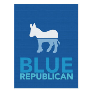 Blue Republican Just For A Year Ron Paul 2012 Postcard