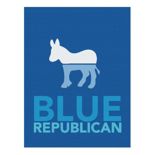 Blue Republican Just For A Year Ron Paul 2012 Post Cards