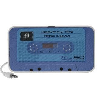 Blue Retro Mix-Tape Speaker