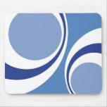 blue retro mouse pads
