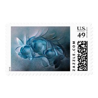 Blue Rhapsody by Robert E Meisinger 2014 Postage