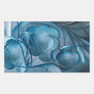 Blue Rhapsody by Robert E Meisinger 2014 Sticker
