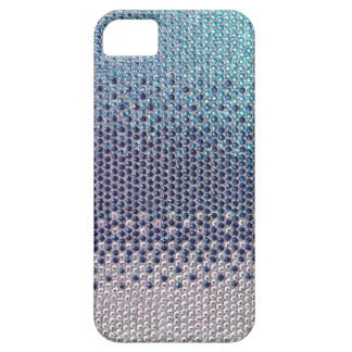 Blue Rhinestone Glitter Bling  iPhone 5 Case