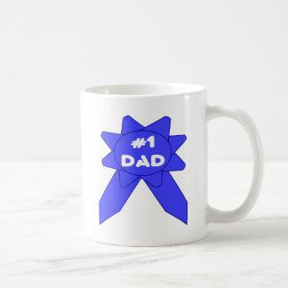 Blue Ribbon #1 Dad Coffee Mug