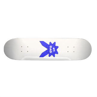 Blue Ribbon #1 Dad Skateboard