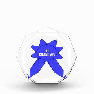 Blue Ribbon #1 Grandma Award