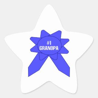 Blue Ribbon #1 Grandpa Sticker