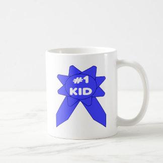 Blue Ribbon #1 Kid Coffee Mug