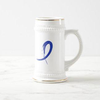 Blue Ribbon A4 de la artritis Tazas De Café