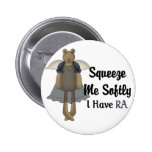 Blue Ribbon Angel Bear :: Squeeze Me Softly. Buttons