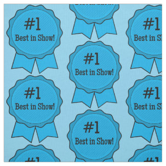 Blue Ribbon Best in Show Fabric