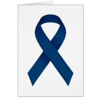 Blue ribbon card