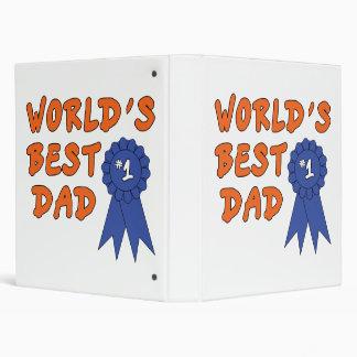 Blue Ribbon Dad Binders