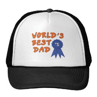 Blue Ribbon Dad Mesh Hats