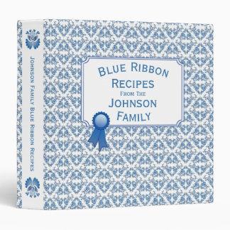 Blue Ribbon Delft Blue Family Recipes Binder
