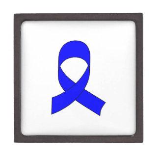 Blue Ribbon Drawing Jewelry Box