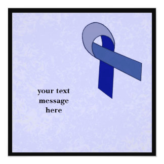 blue ribbon event personalized invites