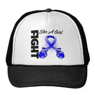 Blue Ribbon Fight Like A Girl Hat