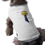 Blue Ribbon For #1 Dad Pet Shirt
