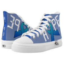 BLUE RIBBON HIGH TOP ZIPZ
