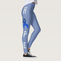 BLUE RIBBON HOPE LEGGINS by OASOTA Leggings