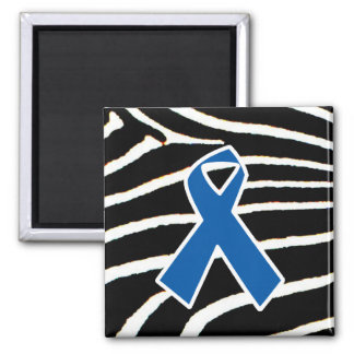 Blue Ribbon Imán Cuadrado