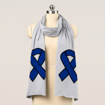 Blue Ribbon Jersey Scarf
